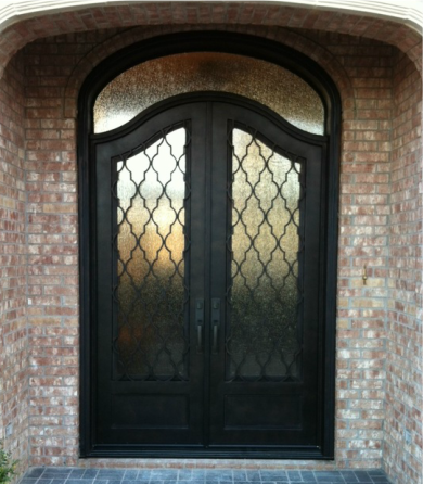 M2 Entry Iron Door in Keller Texas & M2 Iron Doors DFW - #1 Wrought Iron Entry Doors Dallas Fort Worth Texas