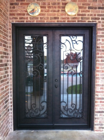#1 Entry Iron Door Photos In Dallas Fort Worth Texas   M2 Iron Doors DFW