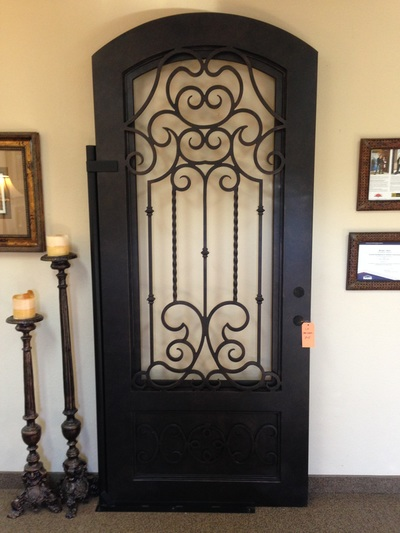 Picture & 1 Entry Iron Door Photos in Dallas Fort Worth Texas - M2 Iron Doors DFW