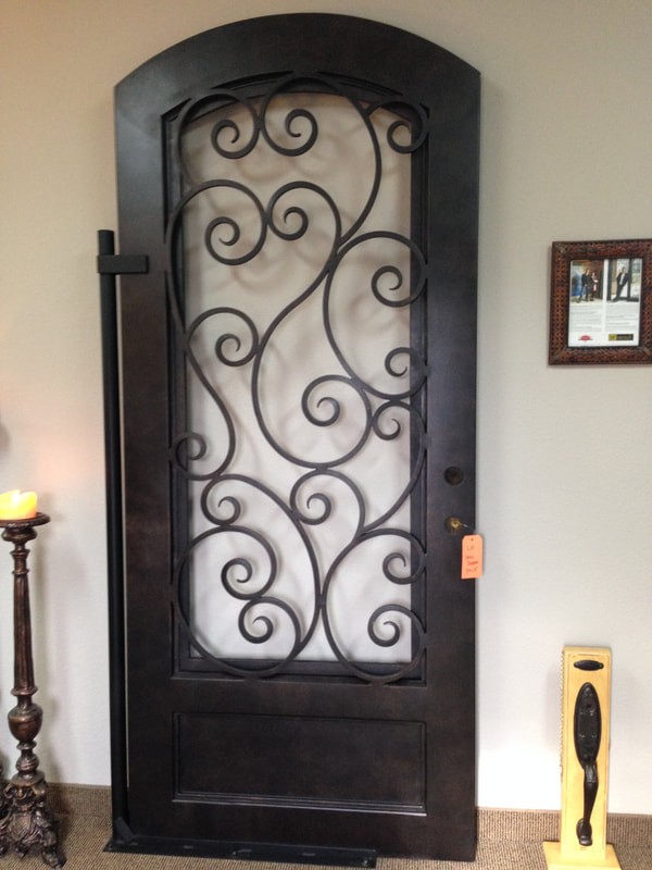 M2 Entry Iron Door in Keller, Texas