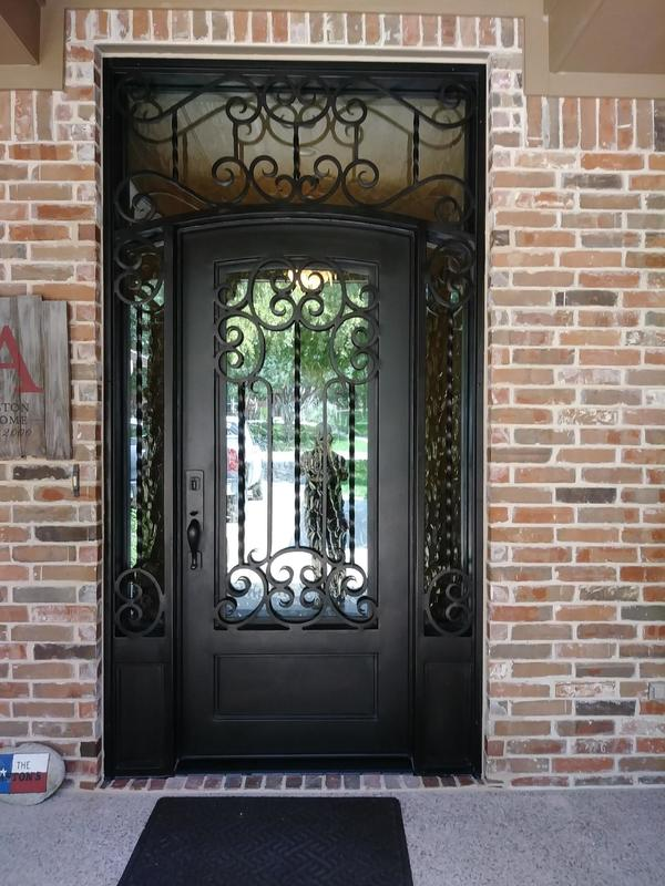 Replacement M2 Iron Door in Southlake, Texas