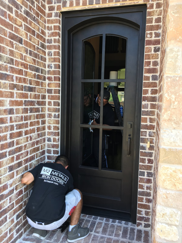 M2 Iron Door in Colleyville, Texas